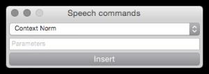 Speech Commands